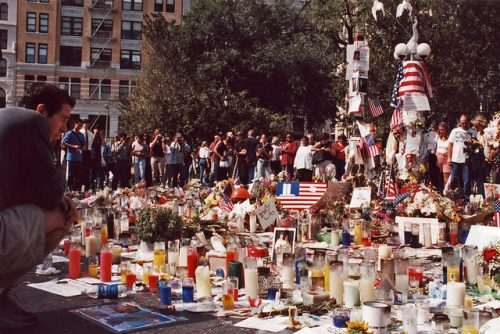 Union Square Memorial After 9/11 NYC