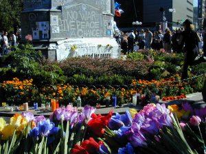 Union Square Park Post 9-11